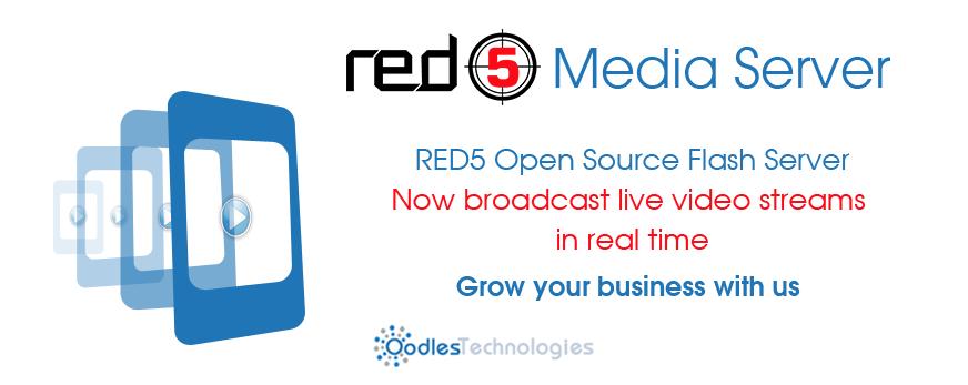 Red5 media server,Red5 live streaming